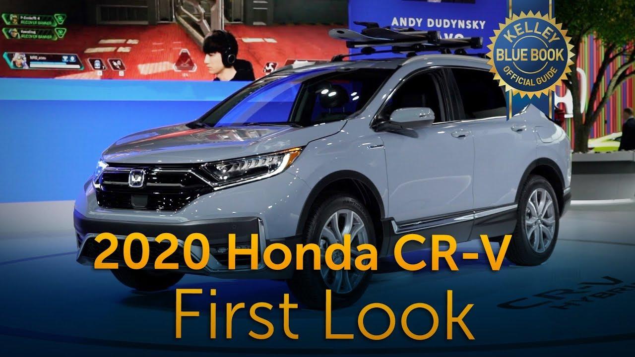 2020 honda cr v first look