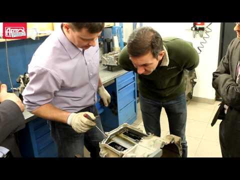 Коробка DSG в лифтбеке Skoda Rapid после ресурсных испытаний