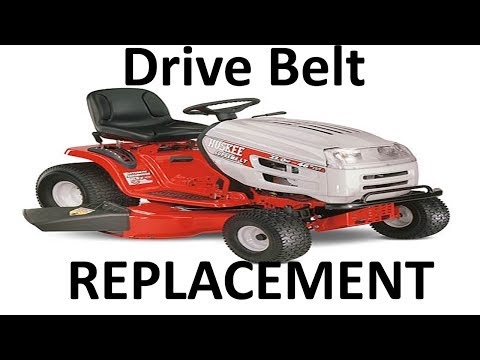 Huskee / MTD Lawn Mower Drive Belt Replacement - YouTube