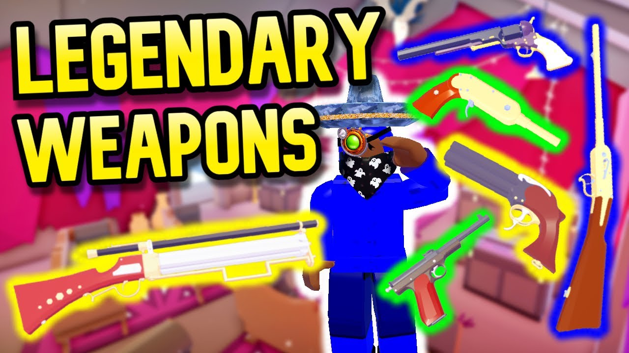 Auction House Weapons Review / Guide — The Wild West UPDATE (Roblox)