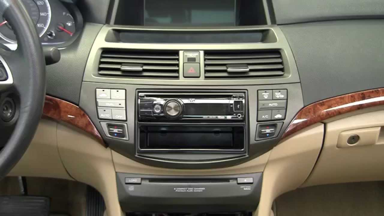 In Dash Car Stereo >> Metra Honda Accord kit 95 / 99-7807 and 95 / 99-7807T - YouTube