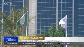 Nigeria's economy shrank 0.52% year-on-year in first quarter