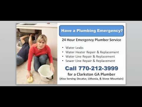 24 7 Emergency Plumber Clarkston GA - Call 770-212-3999 for Emergency Plumber in Clarkston GA