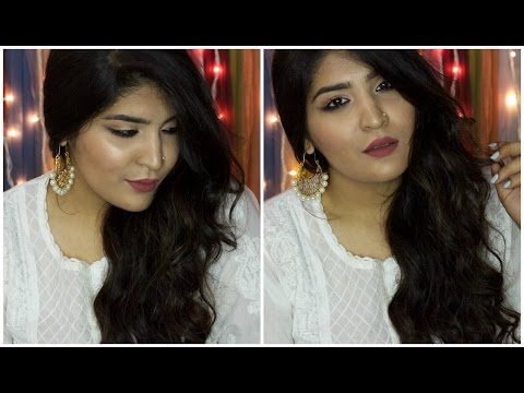 Eid Makeup Tutorial | Reverse Smokey Cat Eye | Affordable and Easy Makeup