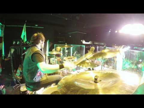"Jason Hartless w/ Ted Nugent ""Paralyzed"" live in Pasadena, CA"
