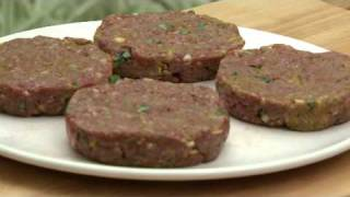 How To Cook Asian Spiced Burgers And Mango Salsa - Barbecue Recipe With Aaron Craze
