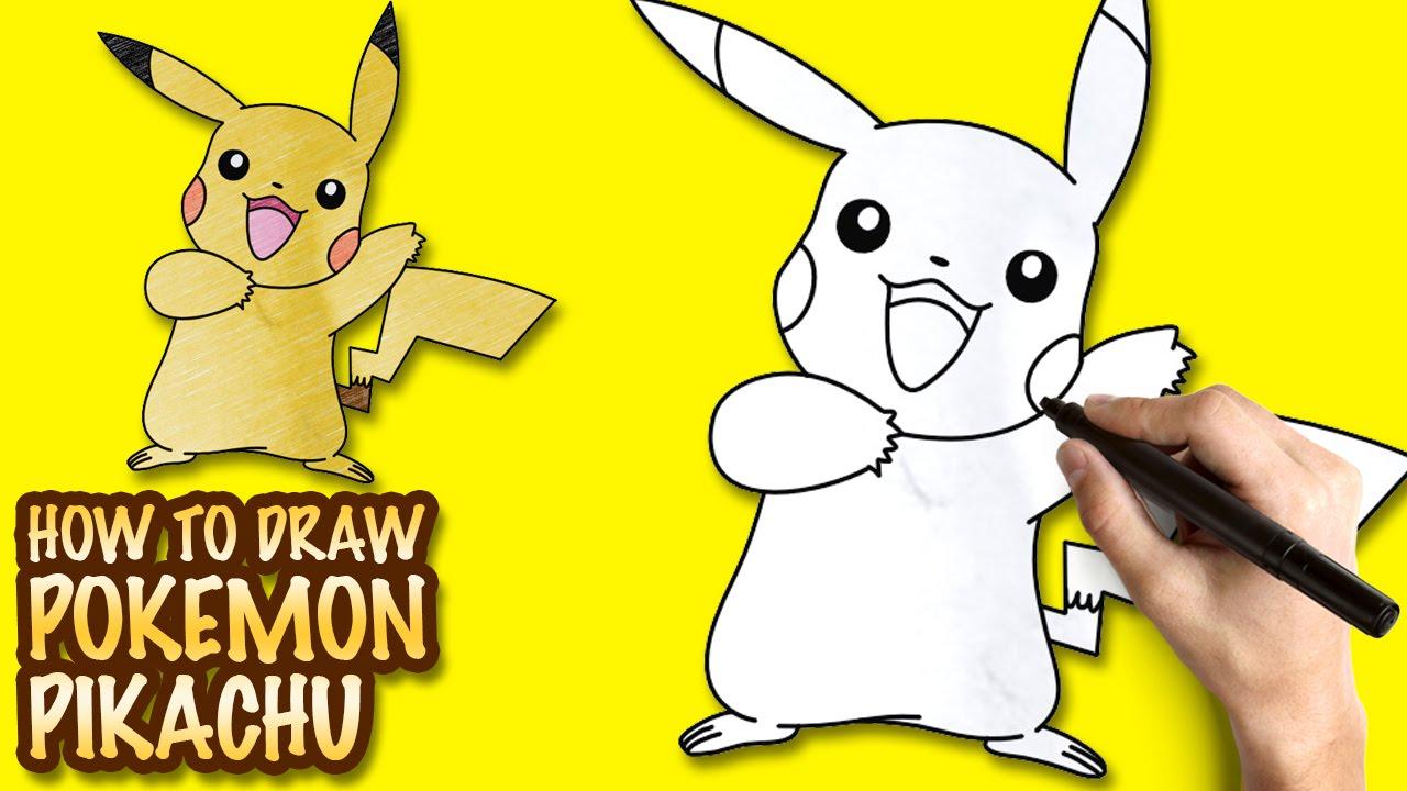 How To Draw Pokemon Pikachu