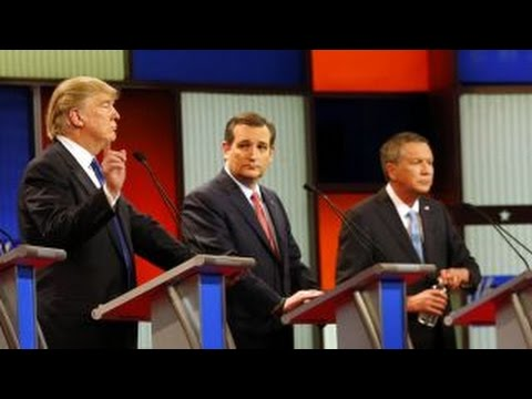 GOP presidential candidates back off pledge to support nominee
