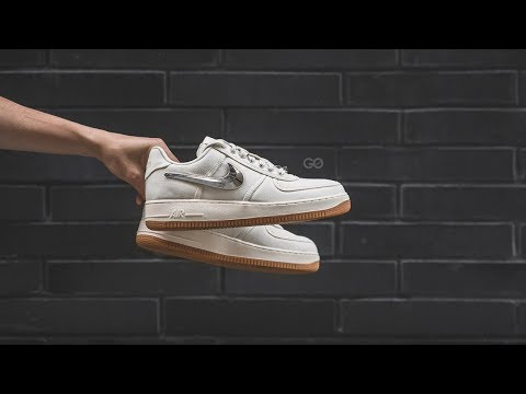 "Travis Scott x Nike Air Force 1 Low ""Sail"": Review & On-Feet"