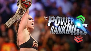 Ronda Rousey seizes the throne: WWE Power Rankings, Aug. 26, 2018