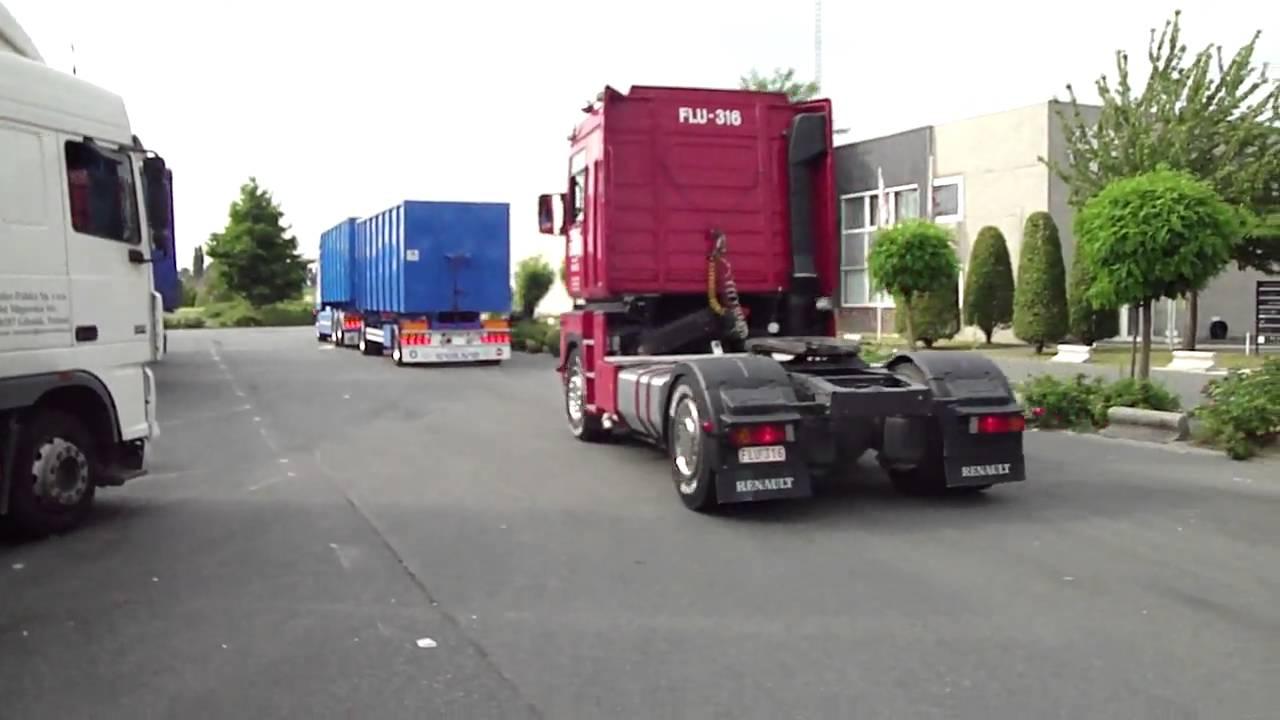 Vertrek verschatse en cools @ lar voor trucks4life; filmed by trucks4life.be
