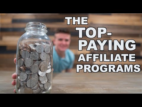These are the Top-Paying Affiliate Programs for Bloggers (5 Industries for 2020) thumbnail