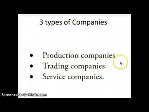3 TYPES OF COMPANIES