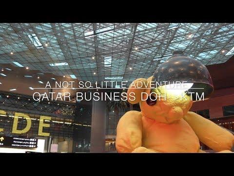 A Not So Little Adventure // Qatar Business Doha  Kathmandu