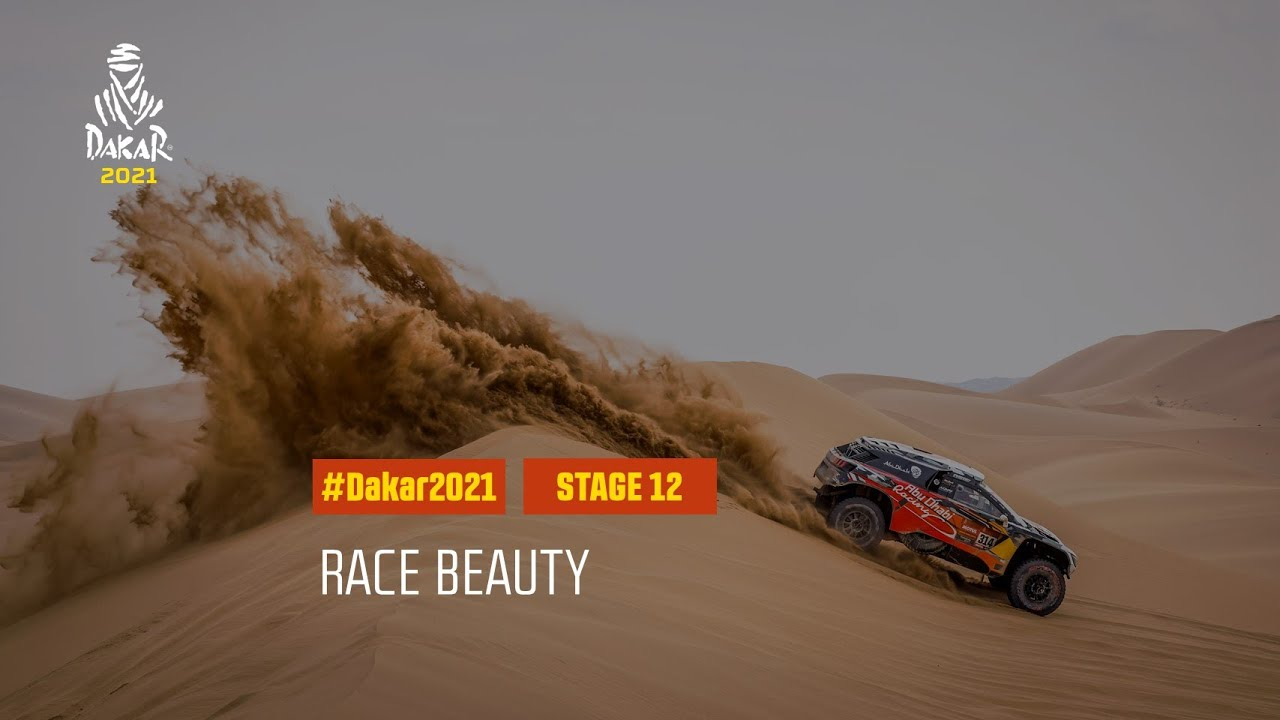 #DAKAR2021 - Stage 12 - Race Beauty