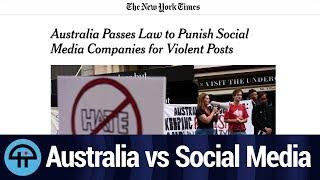 Australia Bans Violent Material on Social Media