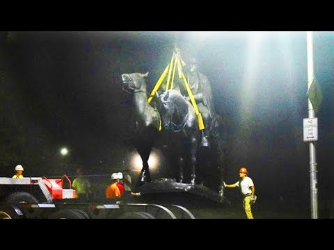 Baltimore Disappears Confederate Monuments Overnight