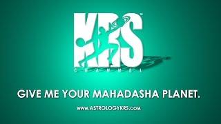 Give me your Mahadasha planet (Astrology Live)