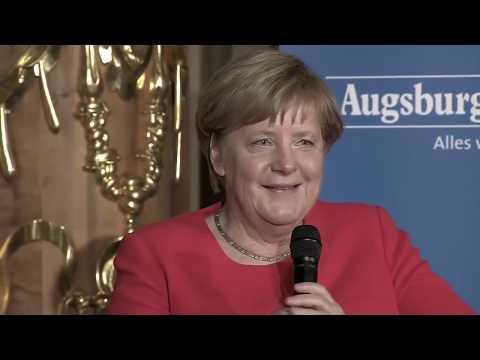 Angela Merkel über
