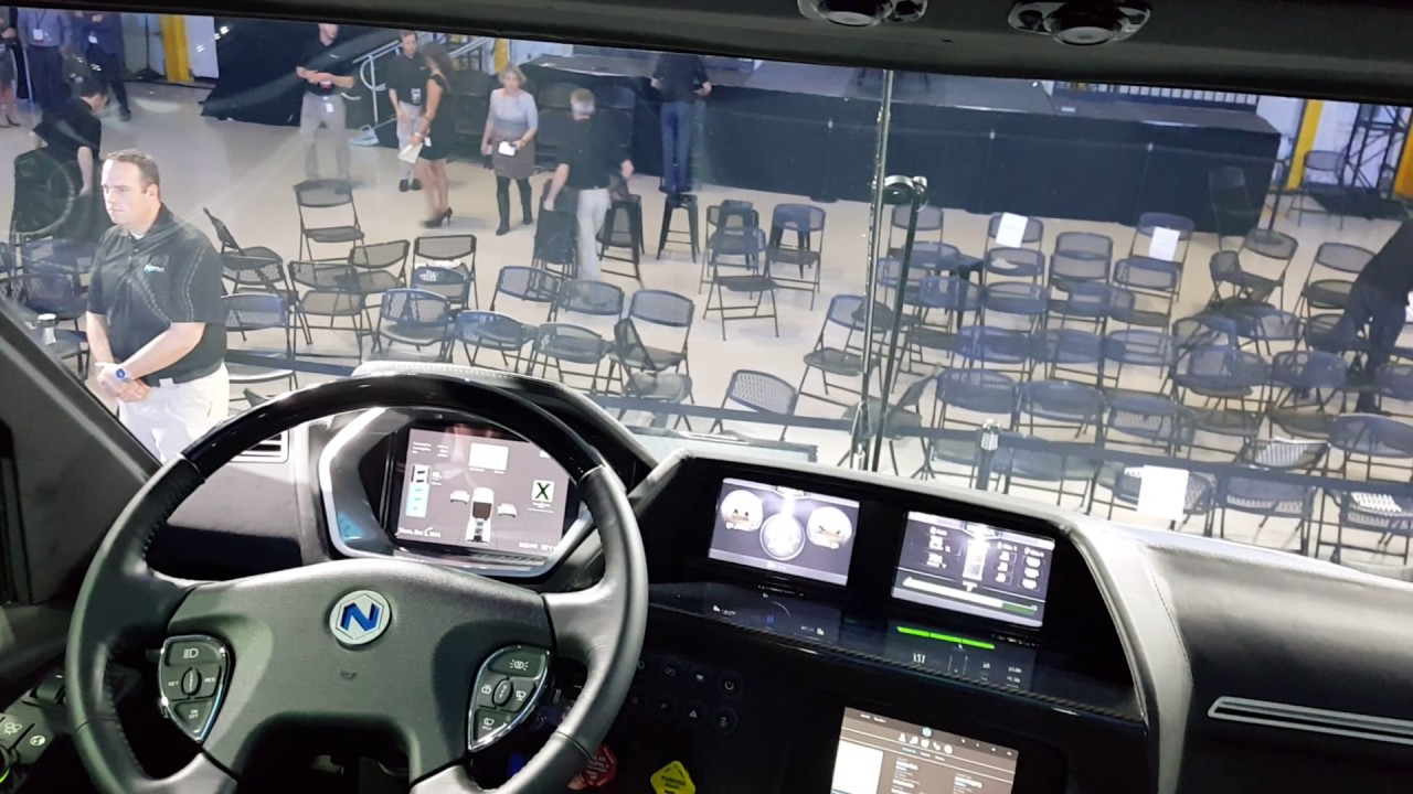 Inside the nikola motor company 39 s nikola one semi truck for Nikola motors stock price