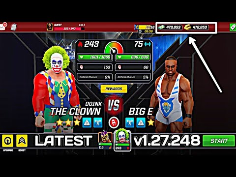 WWE Mayhem Mod Apk Latest Version 1.27.248 (Unlimited Gold/Cash)