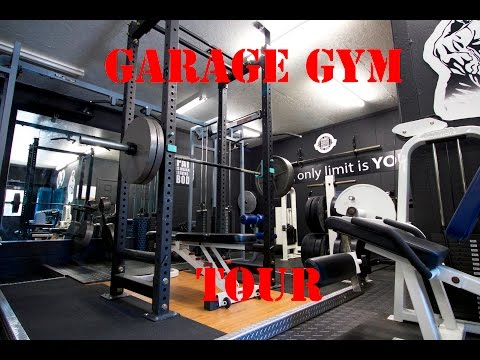 One of the coolest garage gyms ever youtube