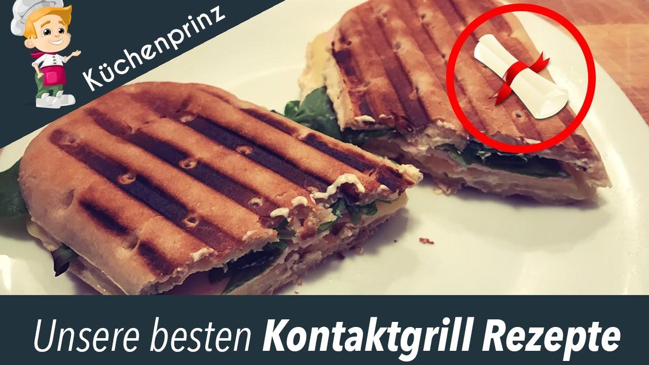 Kontaktgrill Rezepte 3 Leckere Panini Grill Rezepte Youtube