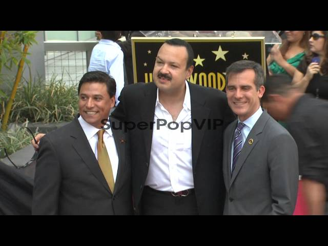 Jose Huizar, Pepe Aguilar and Eric Garcetti at Pepe 'The ... Travel Video