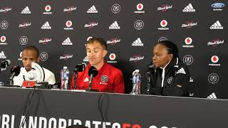 Orlando Pirates vs SuperSport United post match press conference
