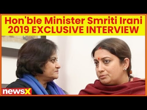 Union Minister Smriti Irani Exclusive Interview, 2019 Lok Sabha Election, Ram Mandir