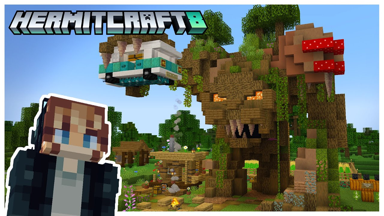 Hermitcraft S8: Recruited into Tree Chaos! | Episode 3