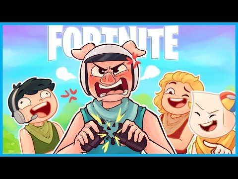 The MOST EXTREME RAGE in Fortnite: Battle Royale! *BROKEN MIC* (Fortnite Funny Moments & Fails)