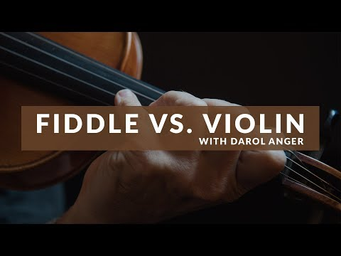 What is the difference between a violin and fiddle?