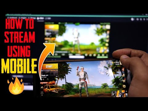How To Stream Using Mobile + OBS🔥| Easiest Way To Stream PUBG Mobile...