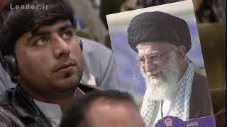 فیلم کامل بیانات رهبر انقلاب | در حرم امام رضا (ع) - مشهد مقدس 1398/01/01
