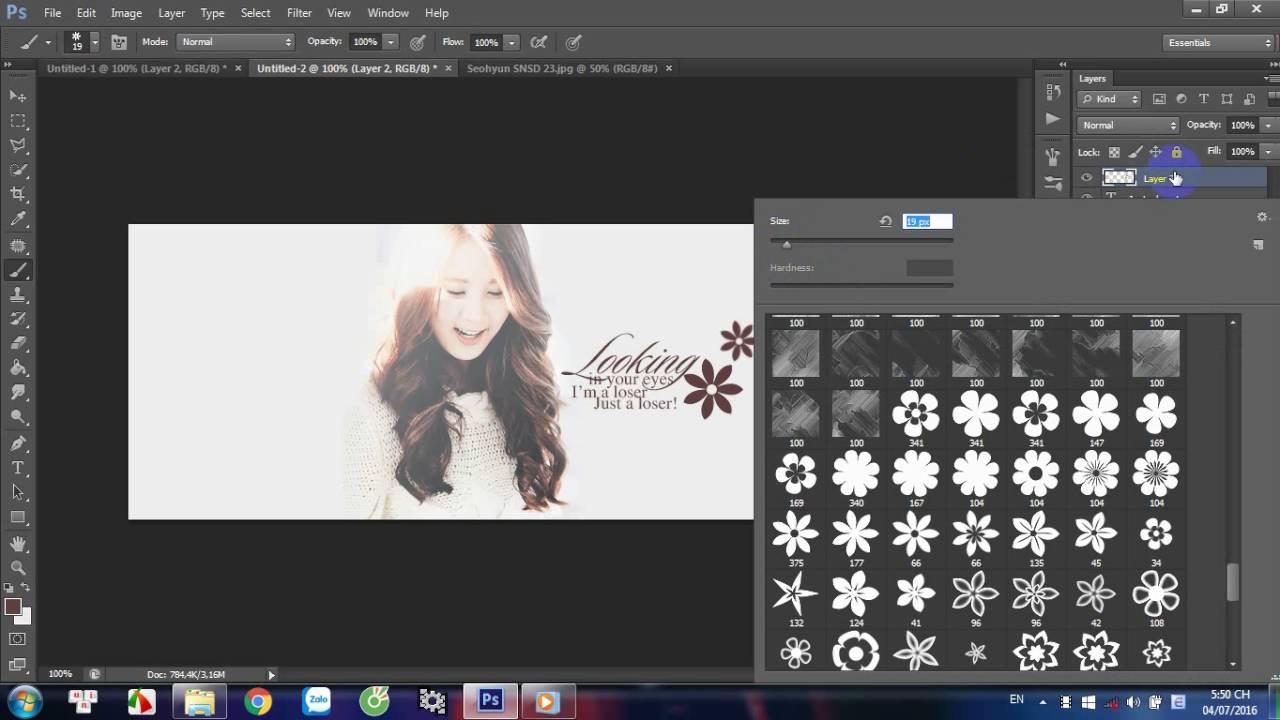 [TUT #8] Hướng dẫn design cover facebook đơn giản bằng photoshop cs6 | Seohyun SNSD