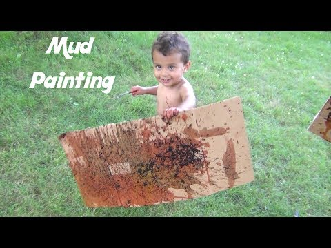 mud-painting-diy-art-project:-fun-summer-activities-for-kids