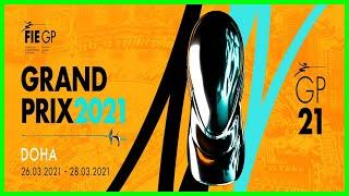 Fencing Grand Prix Qatar 2021 - Piste Green