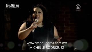 STANDUPERA MICHELLE RODRIGUEZ. CONTRATACIONES CELWHATSAPP 551353-8159