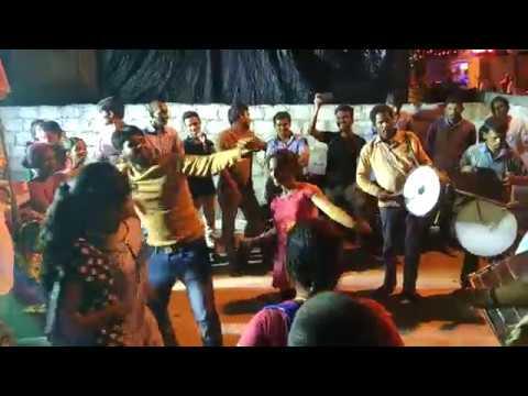 Indian Girls Teen Mar dance in Ganes Nimmajjanam