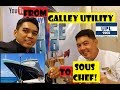 FROM GALLEY UTILITY TO SOUS CHEF (Buhay Sa Cruise Ship)