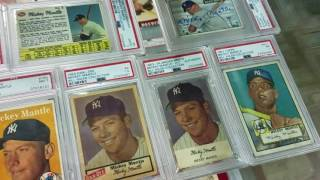 Ultimate Mickey Mantle baseball card collection