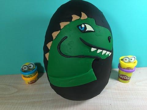 Jurassic World Surprise Egg full with Surprises..
