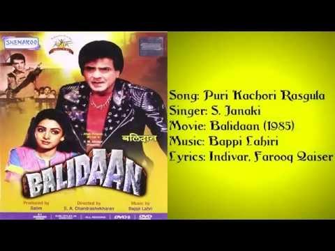 Puri Kachori Rasagulla Ban Jaungi - Balidaan(1985) Movie Song 1080p HD FULL VIDEO SONG