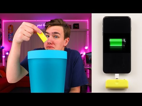 Use This Gadget…Then Trash It?
