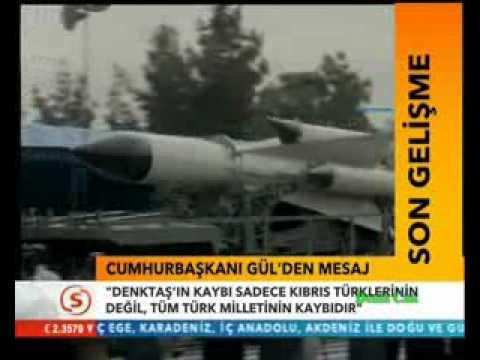 Türkiye başarılı füze denemesi yaptı