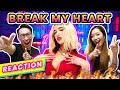 ⚡️Dua Lipa - Break My Heart ✦ MV 反應 REACTION 中文字幕 | ENG Sub⚡️