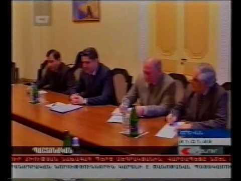 Mr  Setrakian's meeting with Tigran Sargsyan