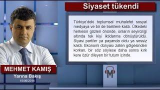 Mehmet Kamış - Siyaset tükendi