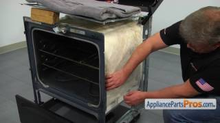 Range Oven Insulation (part #WPW10208653) - How To Replace